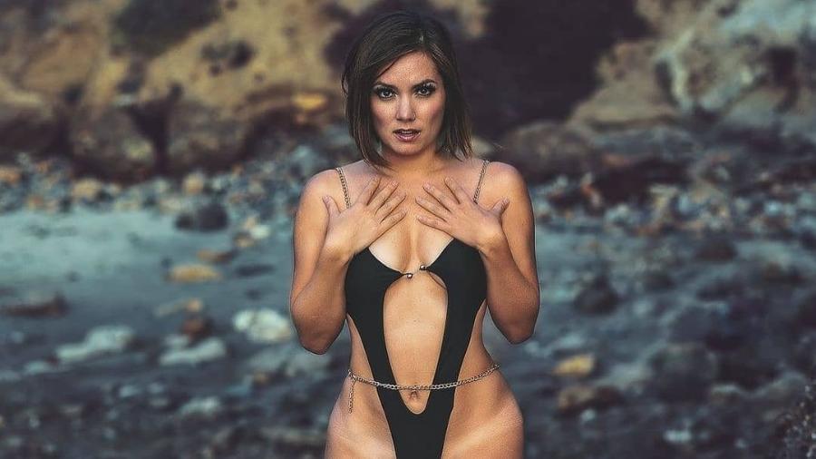 A ex-pastora e agora modelo do Only Fans, Nikole Mitchell - Reprodução/Instagram