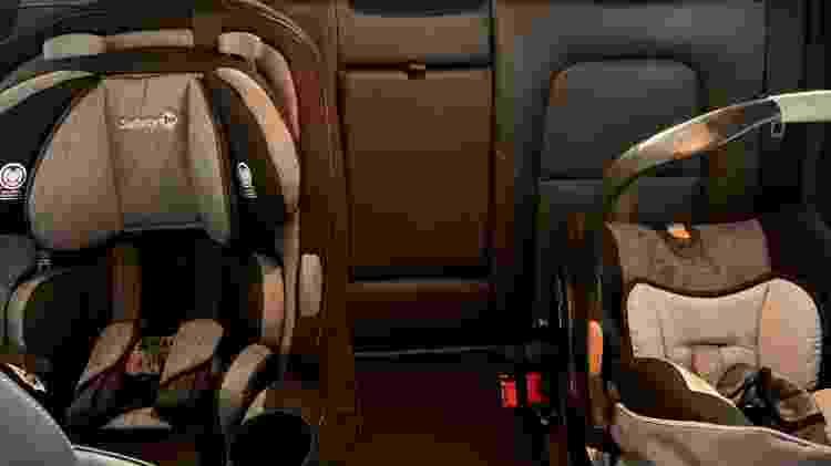 Cadeirinhas - Chevrolet Tracker - Paula Gama/UOL - Paula Gama/UOL