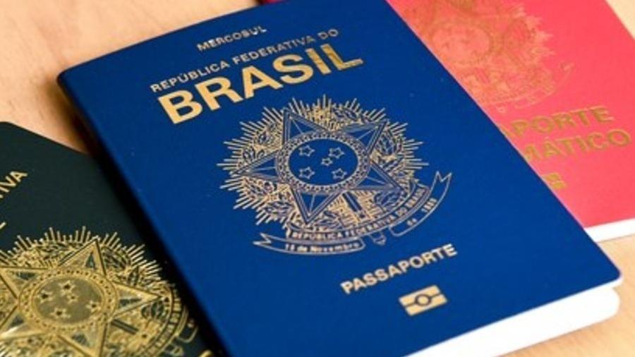Passaportes brasileiros podem ter mais cores além do azul - Reprodução/ereminas.itamaraty.gov.br