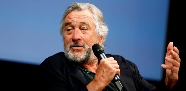 Robert De Niro dá entrevista durante o Festival de Sarajevo, na Bósnia