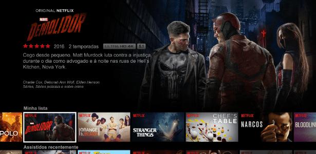 Usuários brasileiros da Netflix têm uma das piores velocidades do serviço - Divulgação