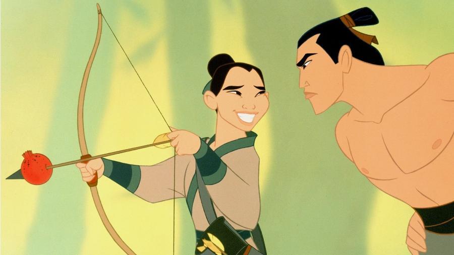"""Cena da animação """"Mulan"""" (1998) - Divulgação"""