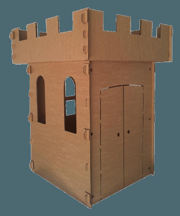 Castelo de Papelão, R$ 215,91, Brincando com Papelão (www.brincandocompapelao.com)