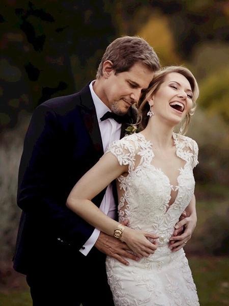Edson Celulari e Karin Roepke celebram casamento - Reprodução/Instagram/edsoncelularireal