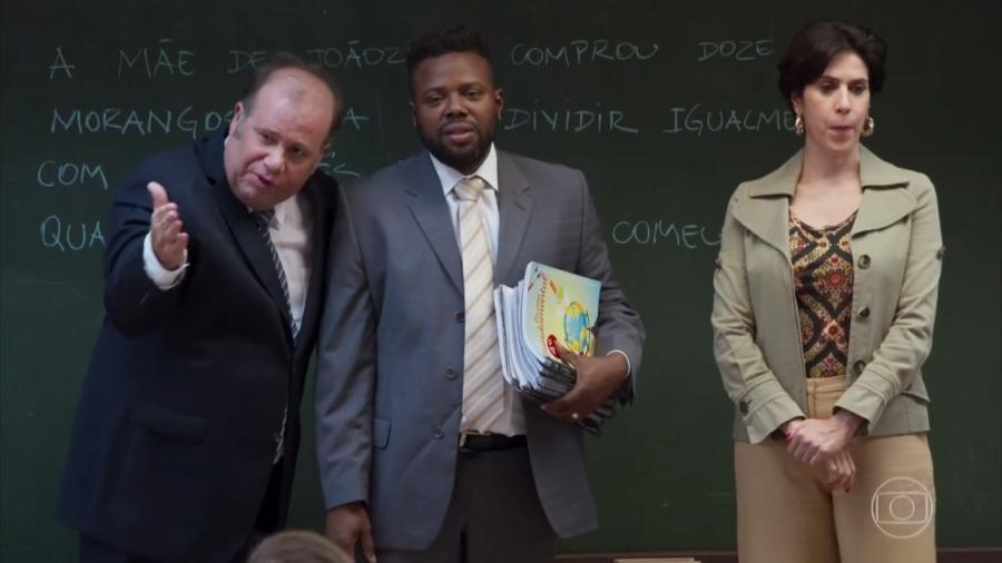 """""""Zorra"""" faz piada com Alexandre Frota e o programa """"Escola sem Partido"""" - Reprodução/TV Globo"""