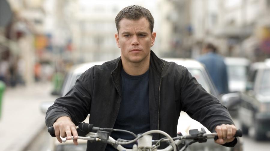 """Matt Damon em cena de """"O Ultimato Bourne"""" (2007) - Divulgação"""