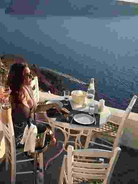 Em viagem pela Grécia, paga por um de seus submissos - Reprodução/Instagram - Reprodução/Instagram