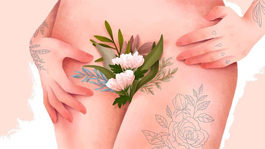O acúmulo de sujeira propicia a presença de bactérias e fungos na vagina, podendo causar cheiro ruim e também infecção - Priscila Barbosa/Arte UOL