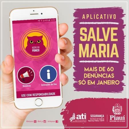 Aplicativo foi criado por servidores do governo do Piauí em três meses - Governo do Piauí/Divulgação