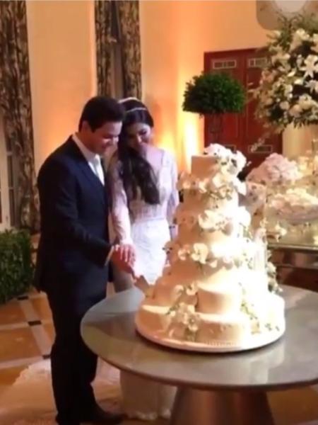 Matheus, da dupla com Kauan, curte festa do casamento com a mulher - Reprodução/Instagram