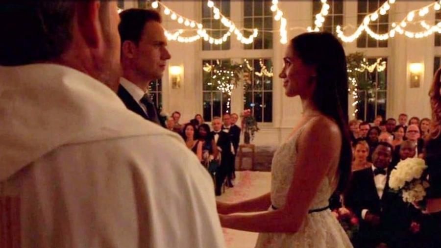 """Meghan Markle em casamento de """"Suits"""" - Reprodução"""