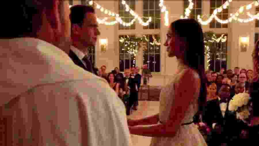 Noiva de Harry, Meghan Markle se casa em Suits - Reprodução