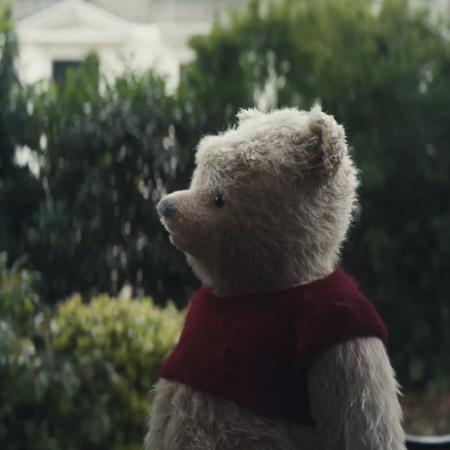"""Cena do filme """"Christopher Robin"""", do Ursinho Pooh - Divulgação"""