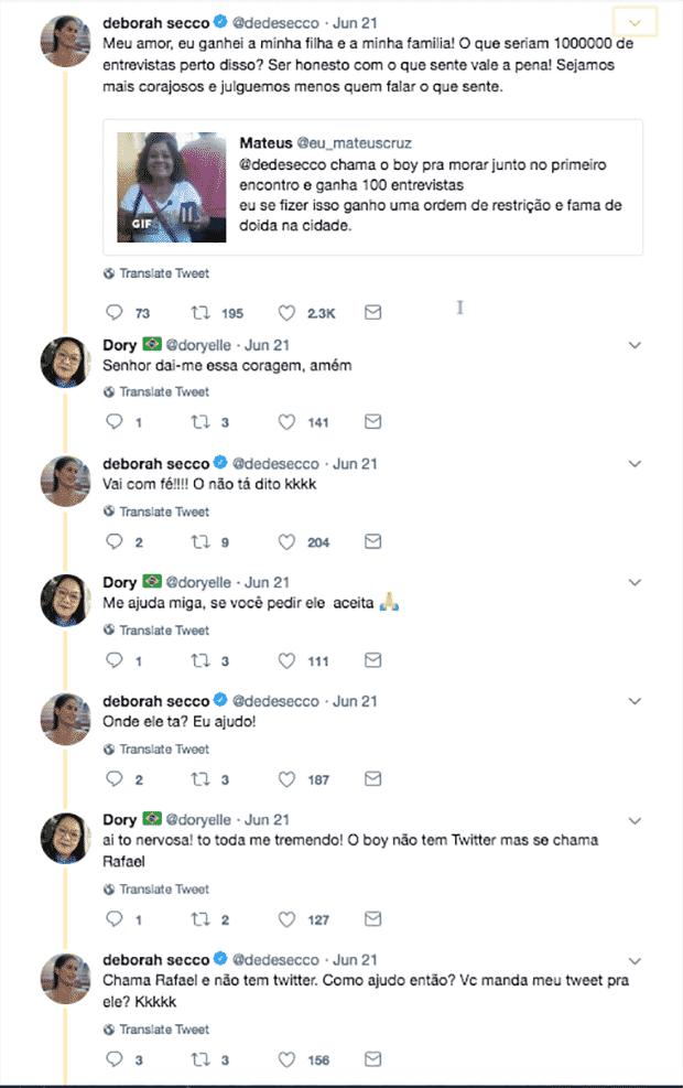 Deborah Secco ajuda fã a ficar noiva - Reprodução/Twitter