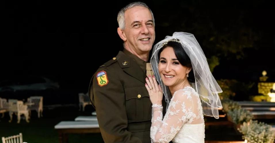 """João Barone, baterista do """"Paralamas"""",  se casa com Janete Watanabe em uma cerimônia realizada em Petrópolis (RJ)"""