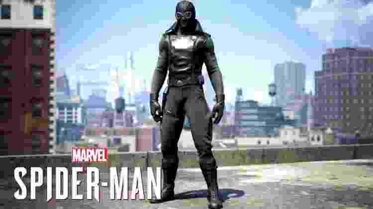 Spider-Man Noir Suit - Reprodução - Reprodução