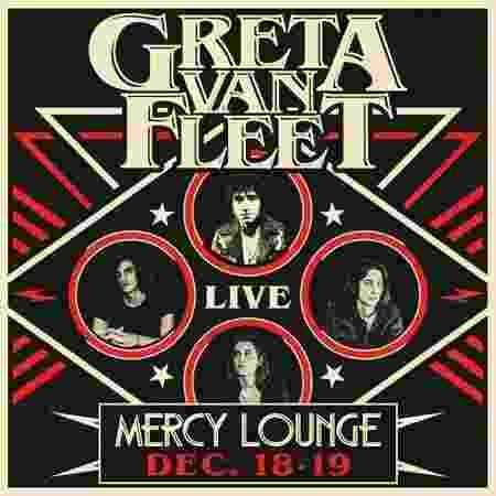 Pôster de show da banda Greta Van Fleet - Reprodução - Reprodução