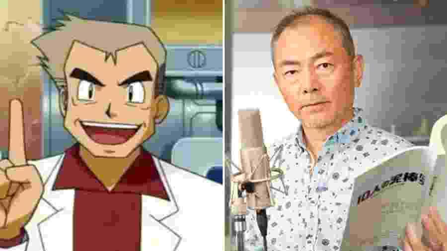 """Unsho Ishizuka foi dublador original do Professor Carvalho em """"Pokémon"""" - Reprodução"""