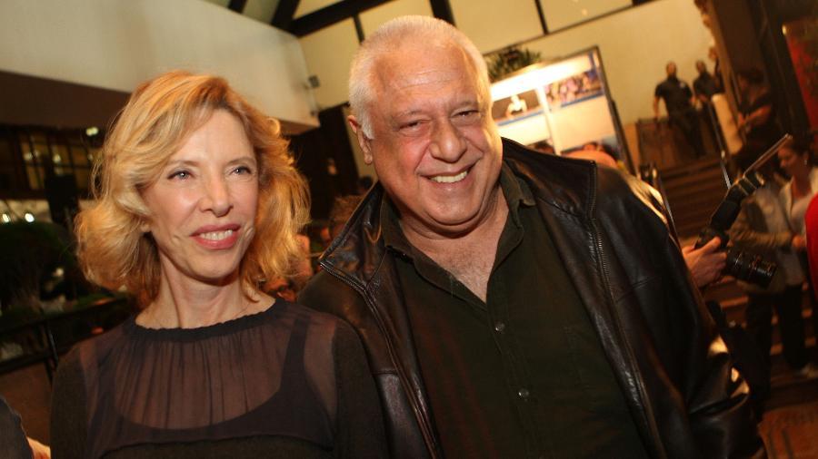 Marília Gabriela e Antonio Fagundes, que já se aventuraram na música - Zanone Fraissat/Folhapress