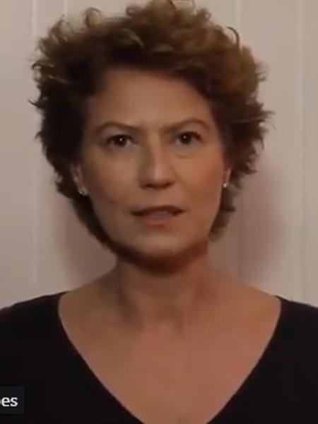 Em vídeo, Patrícia Pillar faz desabafo sobre notícia falsa - Reprodução/Twitter