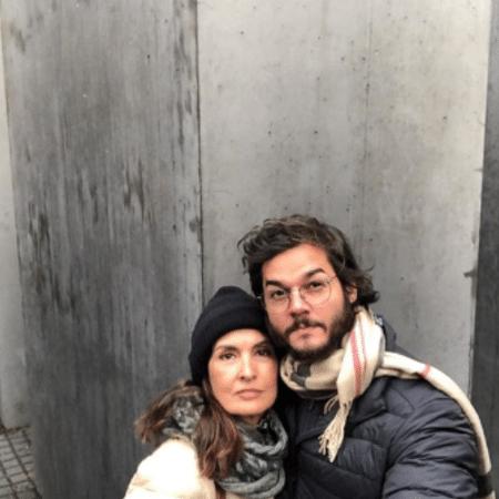 Fátima Bernardes e Túlio Gadêlha na Alemanha - Reprodução/Instagram
