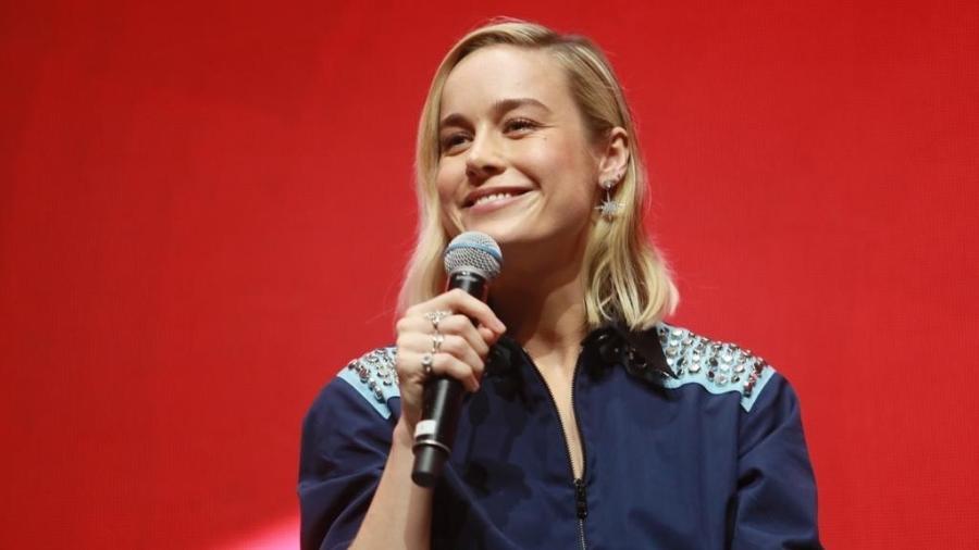 """Brie Larson falou sobre """"Capitã Marvel"""" em painel da CCXP - Iwi Onodera/UOL"""