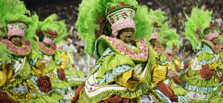 Ensaio técnico da Mancha Verde no Anhebi para o Carnaval de 2019 - Bruno Rocha/Fotoarena/Folhapress