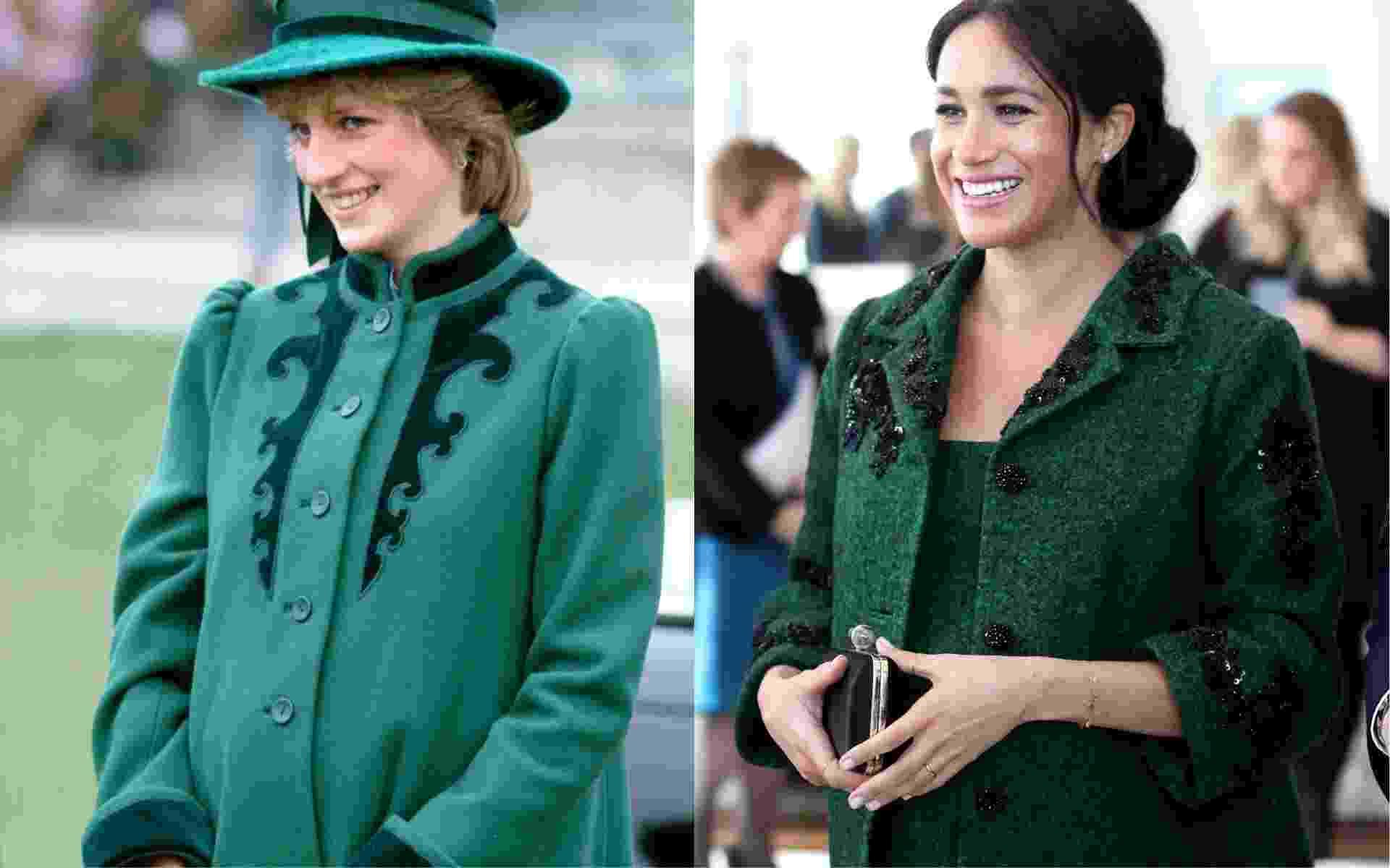 8 looks de Meghan que lembram o estilo de Diana durante suas gestações - Getty Images