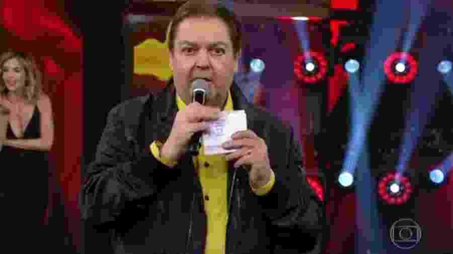 Faustão não foi condenado no processo - Reprodução/Globo