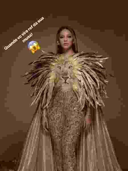 Beyonce Gaby Amarantos 2 - Reprodução/Instagram - Reprodução/Instagram