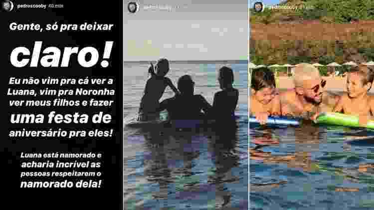 Pedro Scooby pede respeito ao namorado de Luana Piovani e posta foto com os filhos - Reprodução/Instagram - Reprodução/Instagram