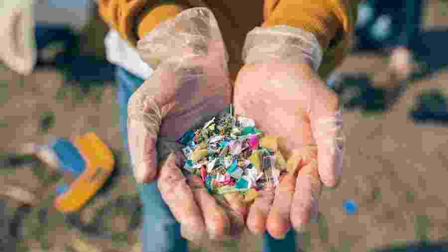 Unilever quer reduzir pela metade o uso de plástico novo até 2025 - Getty Images/iStockphoto