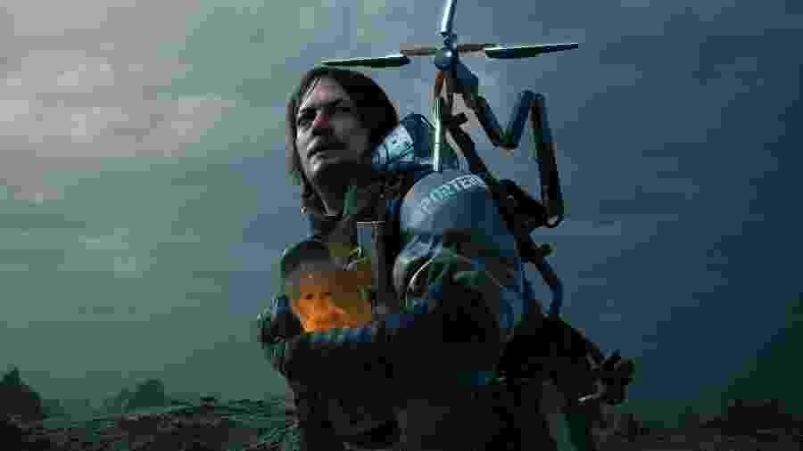 Norman Reedus interpreta Sam porter no game Death Stranding - Divulgação
