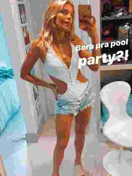 Isabella contou que comprou shortinho em evento de roupas usadas - Reprodução/Instagram