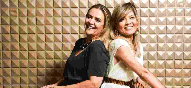 Siomara e Danielle, que inauguraram o Brechó Agora é Meu - Divulgação