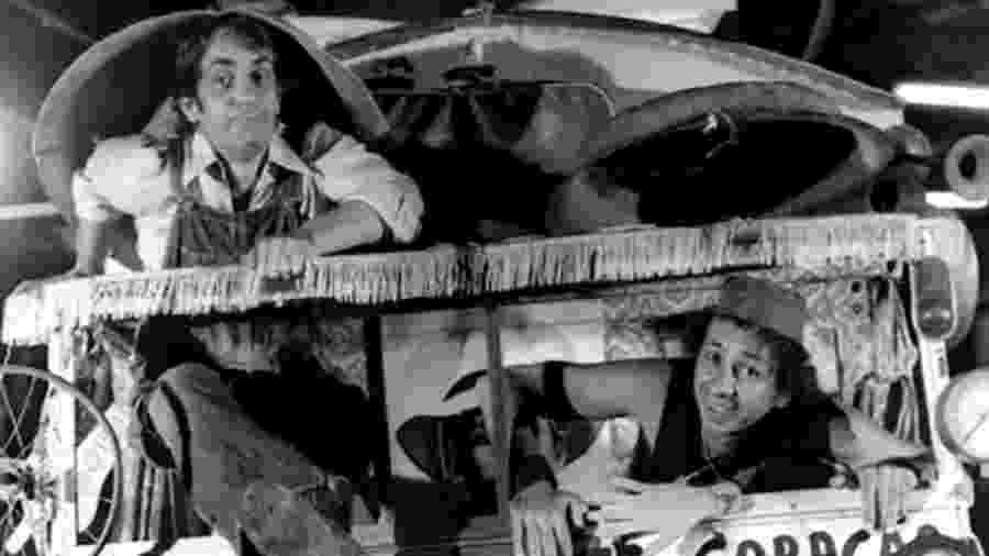 Shazan e Xerife, vividos por Paulo José e Flavio Migliaccio na novela O Primeiro Amor e em uma série de TV - Reprodução