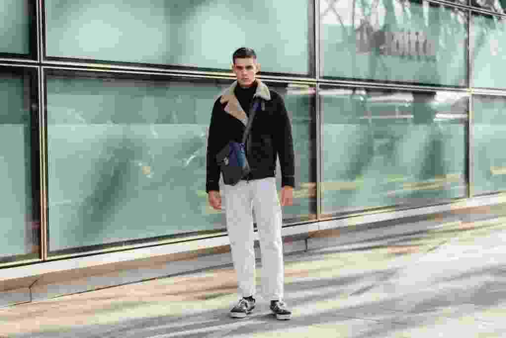 Inspirações para a calça branca no look masculino - Getty Images