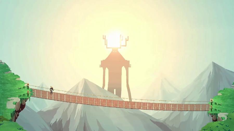 No Place for Bravery é um dos games que podem ser jogados de graça no BIG - Divulgação/The Glitch Factory