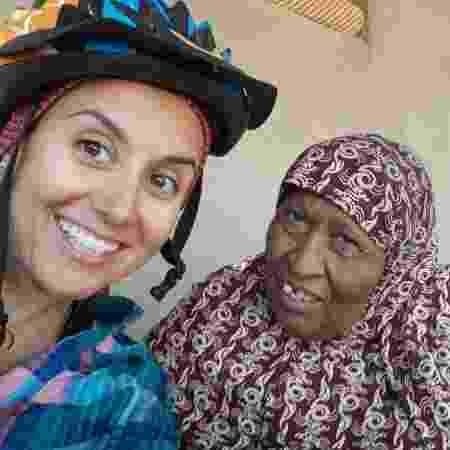 Sara fez boas amizades entre pessoas do Sudão - Aquivo pessoal - Aquivo pessoal