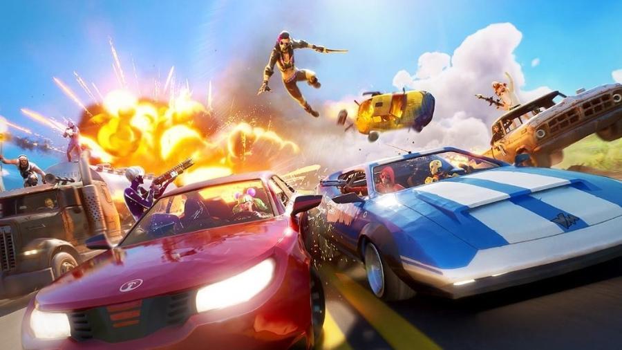 Fortnite recebe 4 novos carros em novo pacote de atualização da Epic Games - Divulgação/EpicGames