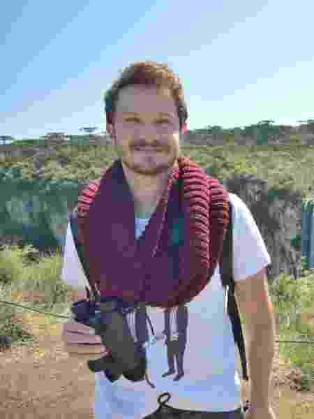 Felipe em Aparados da Serra, Rio Grande do Sul - Arquivo pessoal - Arquivo pessoal