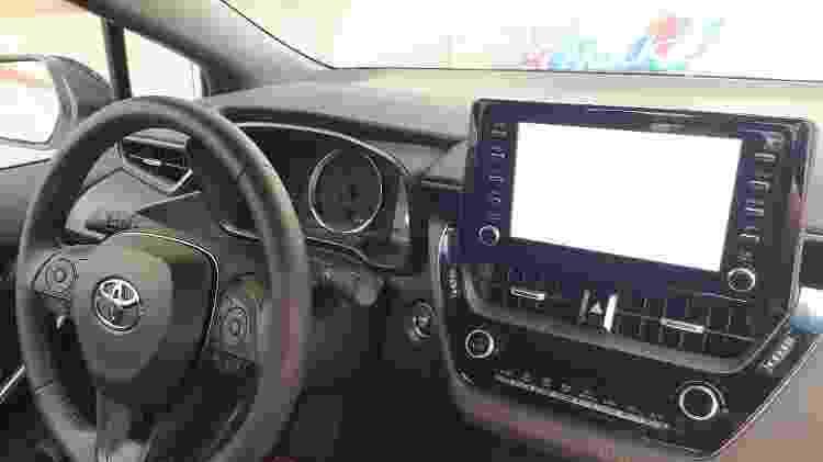 Corolla GR-S interior - Vitor Matsubara/UOL - Vitor Matsubara/UOL
