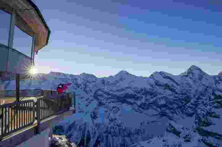 Resort de ski Murren é obcecado por James Bond (3) - Divulgação - Divulgação