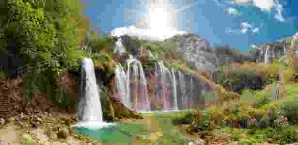 O parque croata é considerado patrimônio da humanidade pela Unesco - Getty Images - Getty Images