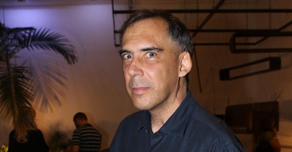 15.mar.2015 - O músico Arnaldo Antunes também garantiu um prêmio no melhores do ano da APCA