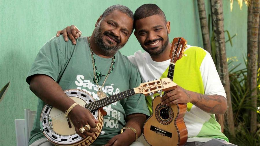Arlindo Cruz e seu filho, Arlindo Neto - Divulgação