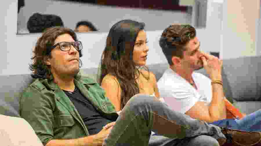 "Ilmar, Emilly e Marcos no ""BBB17"" - Paulo Belote/Divulgação/TV Globo"