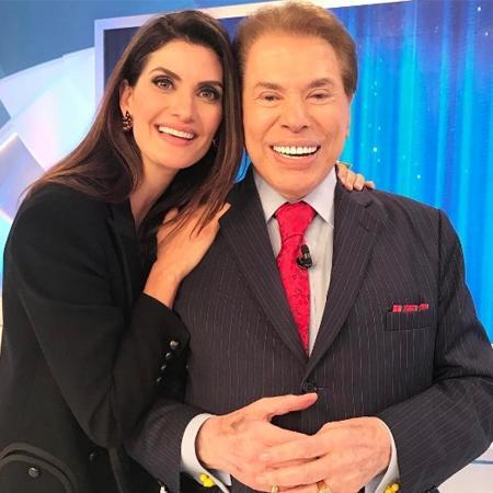 Isabella Fiorentino e Silvio Santos - Reprodução/Twitter