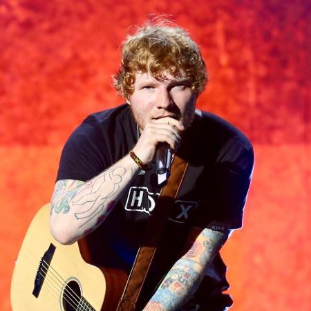Com suas tatuagens à mostra, Ed Sheeran se apresenta no Allianz Parque, em São Paulo - Manuela Scarpa/Brazil News