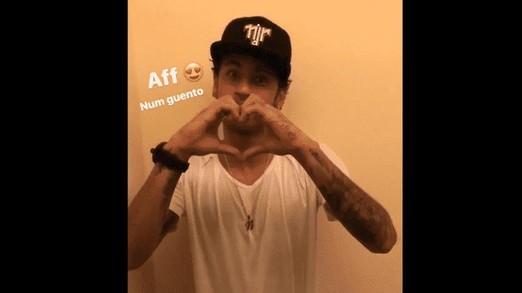 Neymar manda mensagem fofa pra Bruna Marquezine - Reprodução/Instagram - Reprodução/Instagram